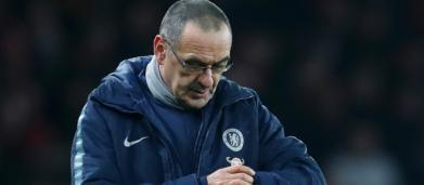 Sarri in bilico: il Chelsea perde ancora, Zidane alla finestra
