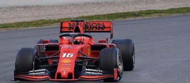 Formula 1, test di Montmelò: Charles Leclerc chiude davanti a tutti nel day 2