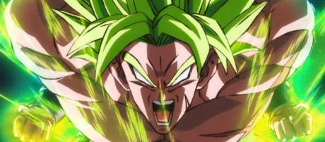 Broly el super saiyajin legendario