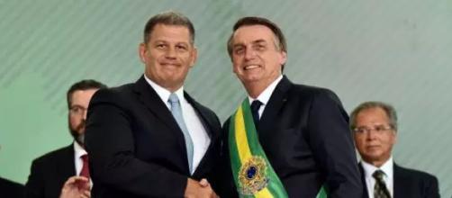 Bebiano e Bolsonaro trocam farpas (Foto divulgação Presidência da República)