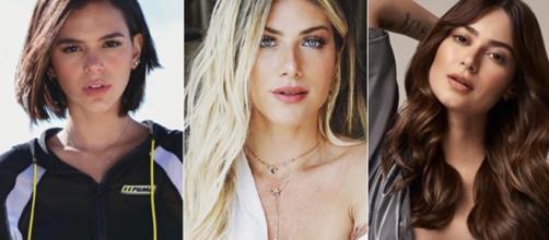 Bruna, Giovanna e Thayla deixaram de seguir Marina nas redes sociais. (Reprodução/ Instagram)