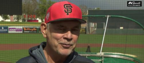 Giants skipper Bruce Bochy has announced that he will retire at the end of the upcoming season. [Image Credit] NBC Sports - YouTube
