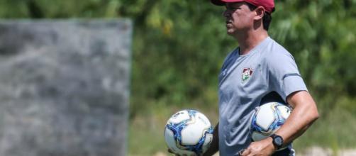 Técnico do Fluminense (Divulgação/Instagram/@lucasmerconphotos/FFC)