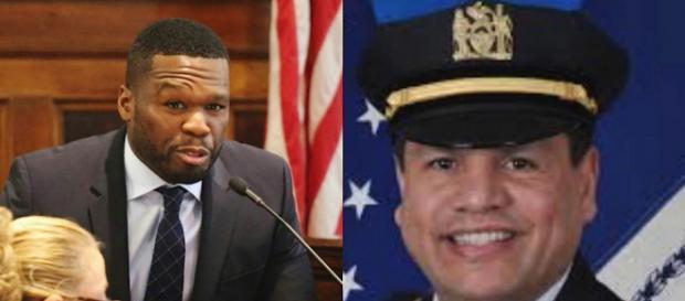 50 Cent e il comandante Emanuel Gonzalez