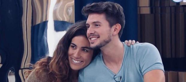 Carlos y Julia, en la Academia de 'OT 2018'. / Gestmusic