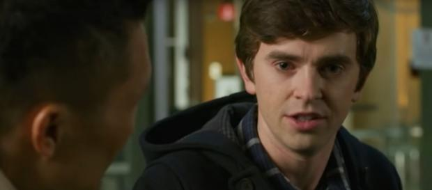 Dr. Murphy (Freddie Highmore) hears a tough decision from Daniel Dae Kim on The Good Doctor. [Image source: TVPromos-YouTube]