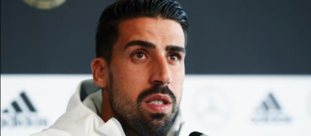 Sami Khedira, centrocampista della Juventus, non partirà per Madrid a causa di un'aritmia