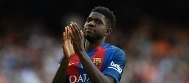 Umtiti a joué pour Lyon avant de rejoindre le FC Barcelone