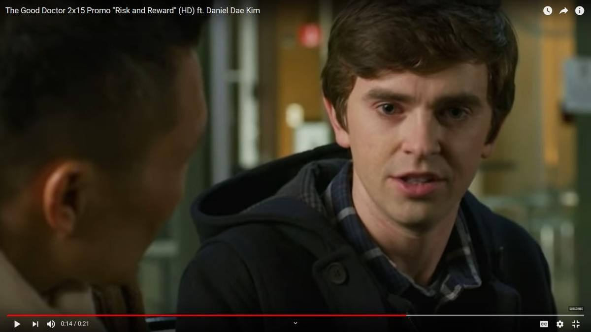 The Good Doctor Season 2 Episode 15 Risk And Reward The New Boss Blues