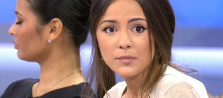 Melyssa se derrumba al enterarse dela cita intima entre Santana y Noelia (Mediaset)