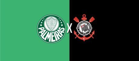 Palmeiras x Corinthians ao vivo (Arte: Diogo Marcondes)