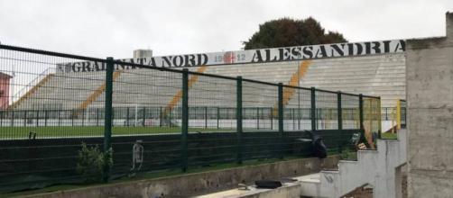 Alessandria-Pisa 24a giornata stadio Moccagatta 3 febbraio 2019.