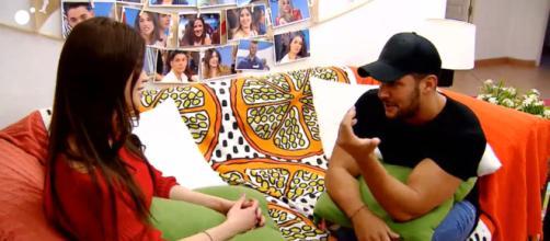 Dani,el hermano de Noelia, afirma que ve mucha química entre ella y Santana (Mediaset)