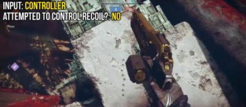 Fallout Plays showing the recoil on console. [Image source: Fallout Plays/YouTube]