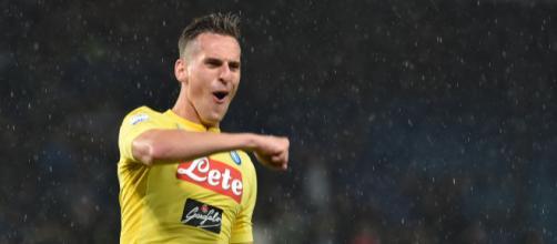 Napoli-Sampdoria 3-0: Milik letale