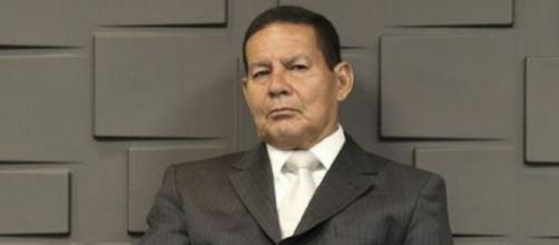 Vice-presidente da República, Hamilton Mourão (Imagem: Reprodução/R7)