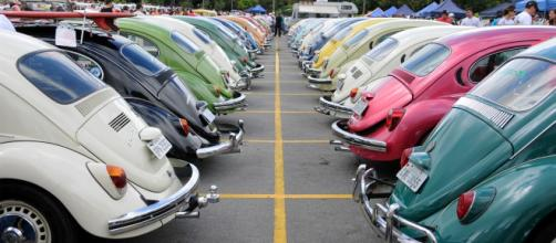 Volkswagen Fusca nacional completou 60 anos. Imagem: Murilo Goes/UOL