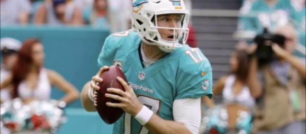 Miami's Ryan Tannehill is expected to be cut this offseason. [Image Credit: CommonManFootball - YouTube]