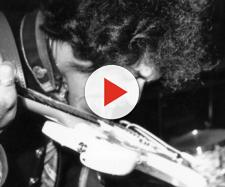 Jimi Hendrix durante un concerto