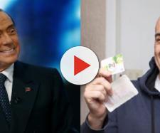Silvio Berlusconi e Nicola Zingaretti.