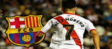 El Barça quiere fichar a Álex Moreno en el próximo verano (Rumores)