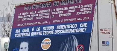 Trento, provocazione no vax: i bambini non vaccinati paragonati alle vittime della Shoah