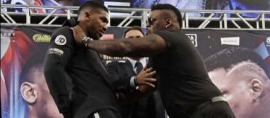 Anthony Joshua vs Jarrell Miller: insulti pesanti e spintoni in conferenza stampa (VIDEO)