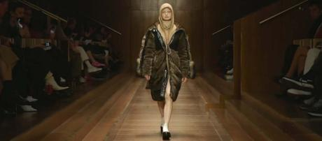 Burberry had to apologise after criticism of a hoodie with a noose-like drawstring. [Image FF Channel.YouTube]
