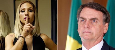 Valesca usou redes sociais para se manifestar contra Bolsonaro. (Foto: Reprodução/Instagram)