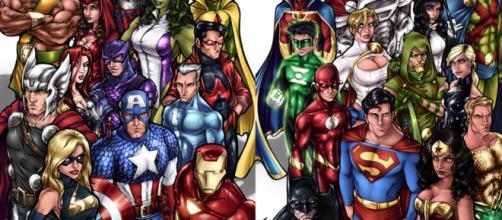 A guerra das gigantes dos quadrinhos nunca fica velha (Foto: Pinterest)