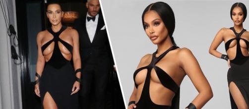 Fashion Nova copia il Thierry Mugler del 1998 di Kim Kardashian