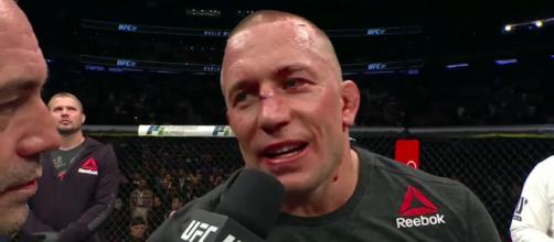 Georges St-Pierre is set to announce his retirement from the octagon. [Image Credit] UFC - Ultimate Fighting Championship - YouTube