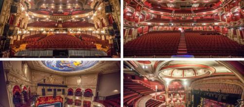 Les magnifiques théâtres aux décors somptueux