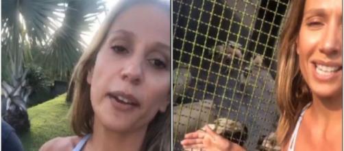 Luiza publica vídeo no Instagram denunciando ameaças de morte - reprodução/Instagram/@luiisamell
