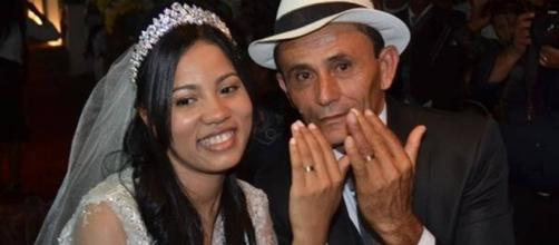 Stefhany Absoluta e Roberto se casaram em 2015 (Foto: Portalv1/ divulgação)