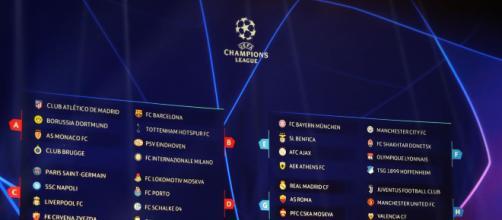 Subito sfide stellari per le italiane sorteggiate in Champions League - cronachedi.it