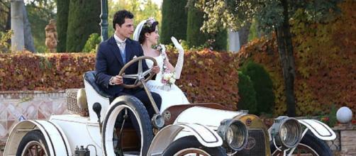 Una Vita anticipazioni spagnole, Victor e Maria Luisa sposi