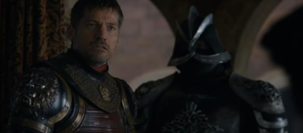 an epic Jaime Lannister theory hints at how Game of Thrones might end [image source: Davos Seaworth - YouTube]