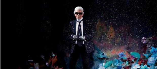 Karl Lagerfeld en una foto de archivo