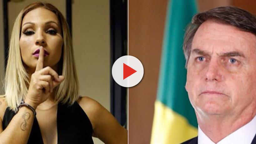 Após polêmica, Valesca Popozuda critica Bolsonaro: 'ele representa a opressão, a violência'