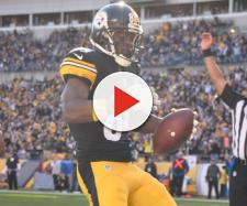 Antonio Brown a Lion? It is possible. [Image via NFL.com/YouTube]