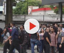 Em Santo André funcionários da CVC evacuam prédio - Foto: Redes sociais