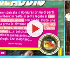 """Francesco Acerbi """"lascia"""" Ariadna Romero e lei lo scopre in diretta."""