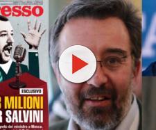 L'Espresso contro Salvini: 'Trattativa segreta per finanziare la Lega soldi russi'
