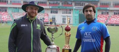 DSport live streaming Afghanistan v Ireland 1st T20 at 6 PM Thursday