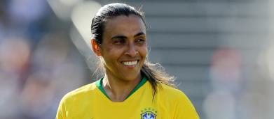 5 curiosidades sobre Marta, a rainha do futebol