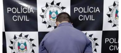 Homem suspeito de matar a mulher a facadas na frente dos filhos é preso no RS