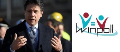 Sondaggi Winpoll: governo gialloverde oltre il 59% dei consensi, Forza Italia sotto il 10%