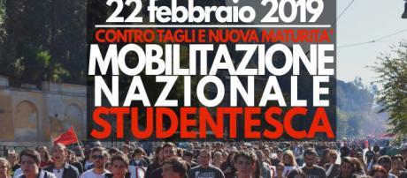 """""""Bocciamo il governo"""": il 22 febbraio studenti in piazza in tutta Italia"""