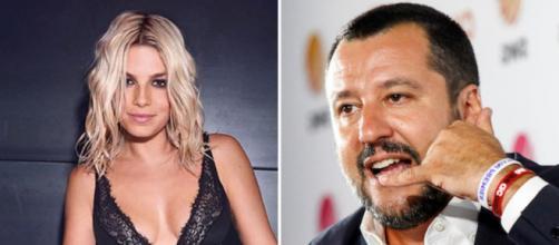 Emma Marrone si schiera contro Matteo Salvini durante un live: piovono insulti sui social.